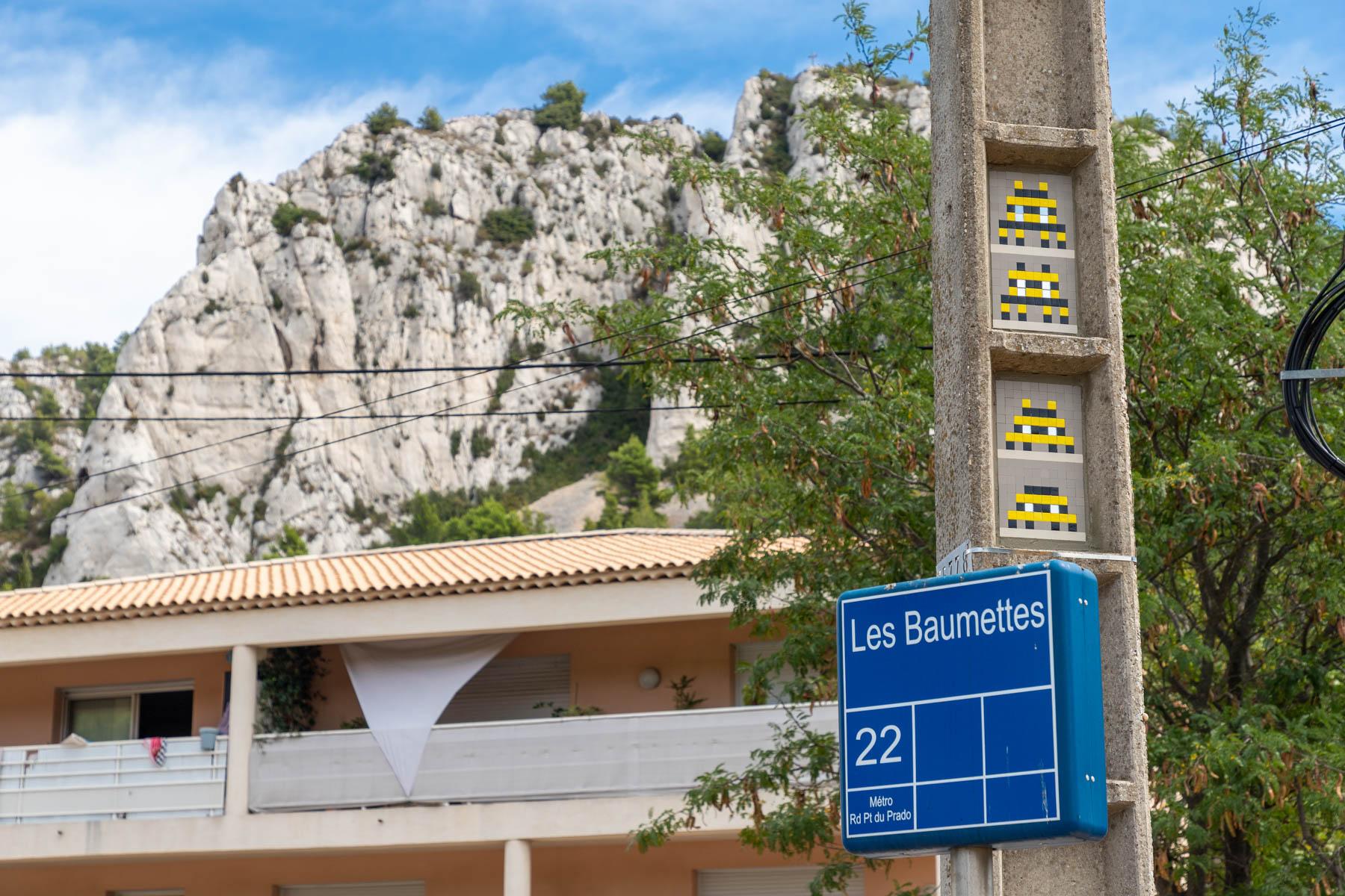 Invader à Marseille - Septembre 2020