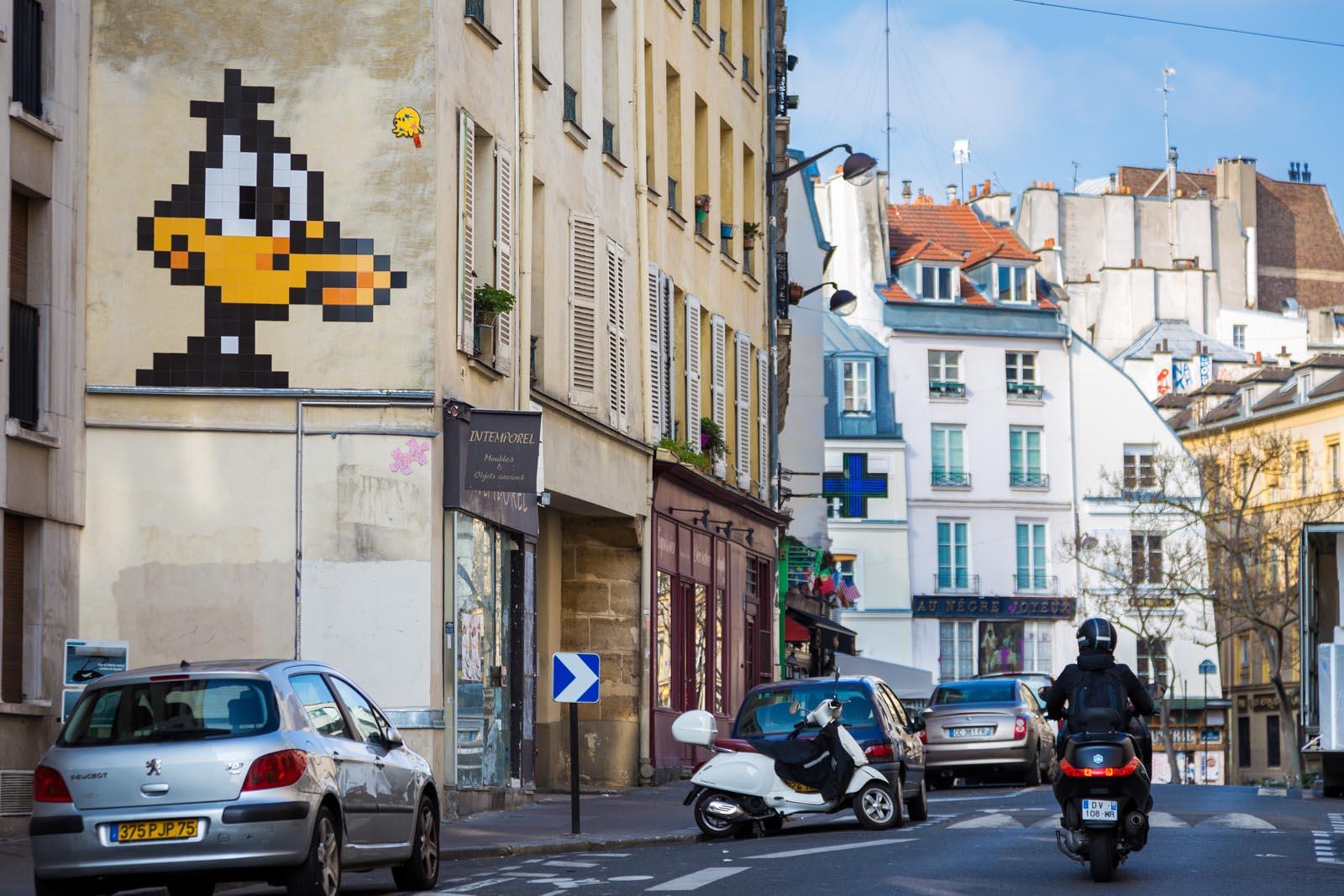 Daffy by Invader