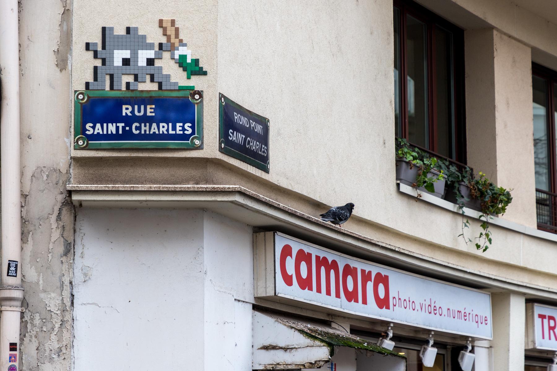 Invader @ Paris