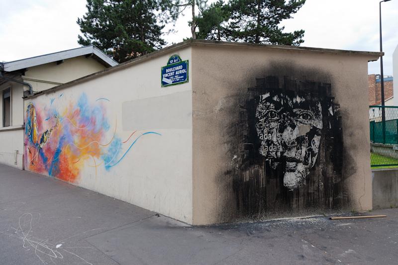 Vhils à Paris - Juin 2012