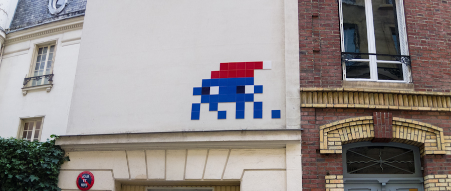 Santa Claus by Invader - Janvier 2013