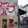 PA-1039 - Space Invader @ Paris - La panthère rose