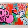 Graffitis sur les murs de Paris