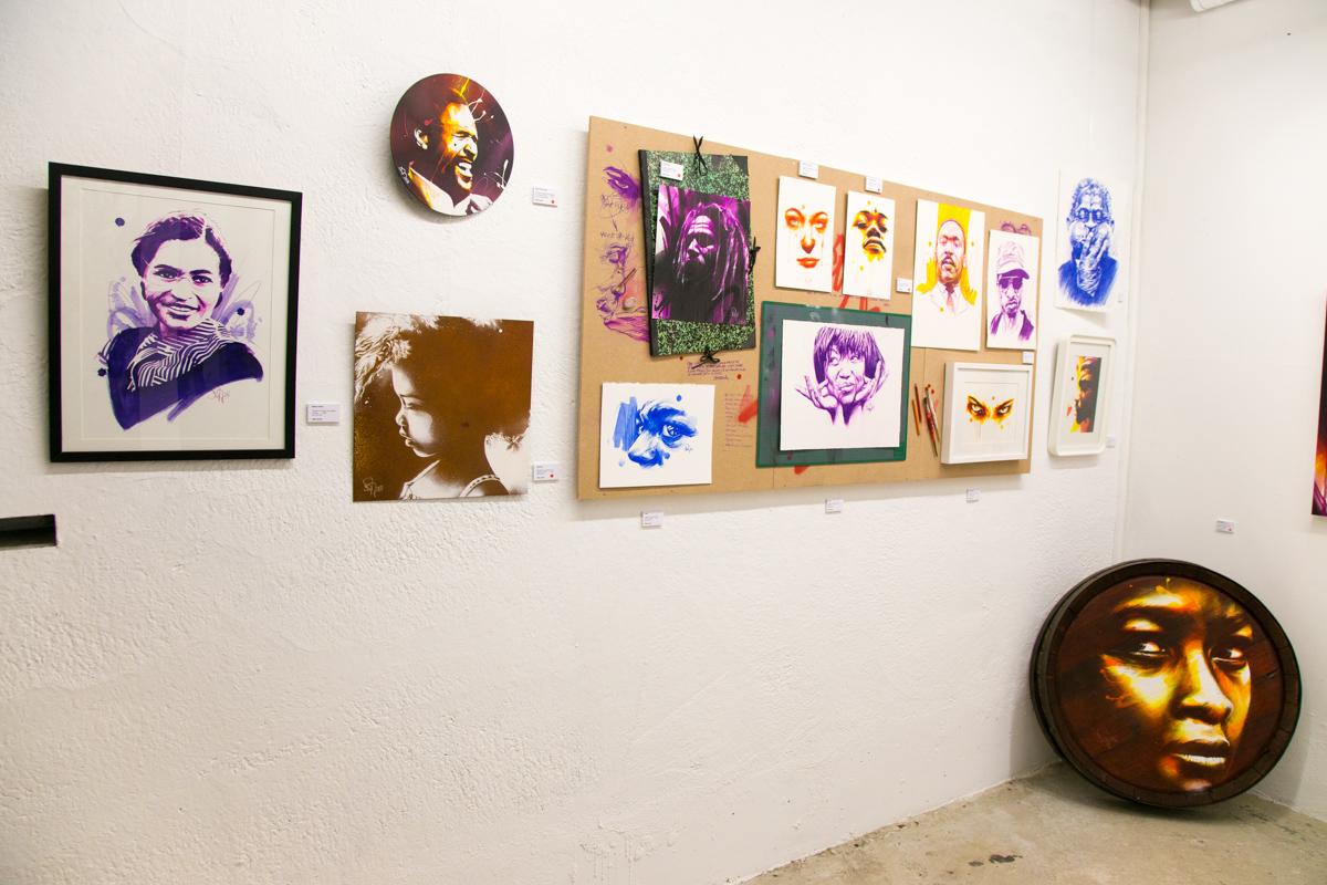 Dan23 à la Galerie Mathgoth - Mars 2014