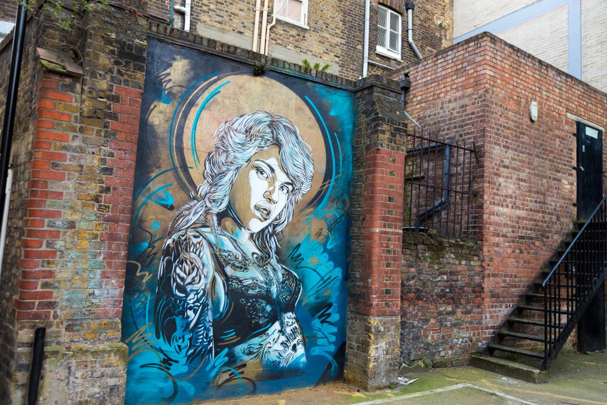 C215, Londres - Mars 2014