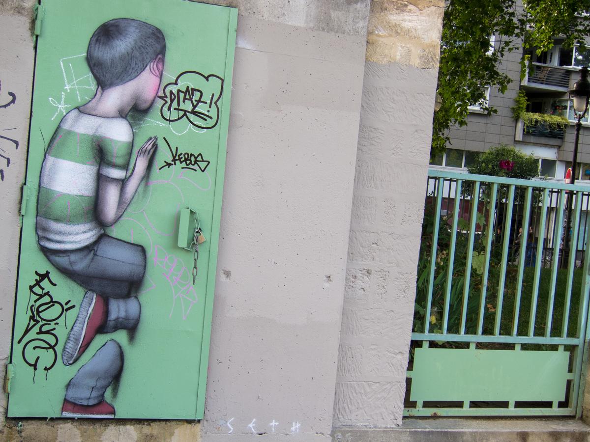 Le M.U.R. de Seth - Paris - Mars 2015