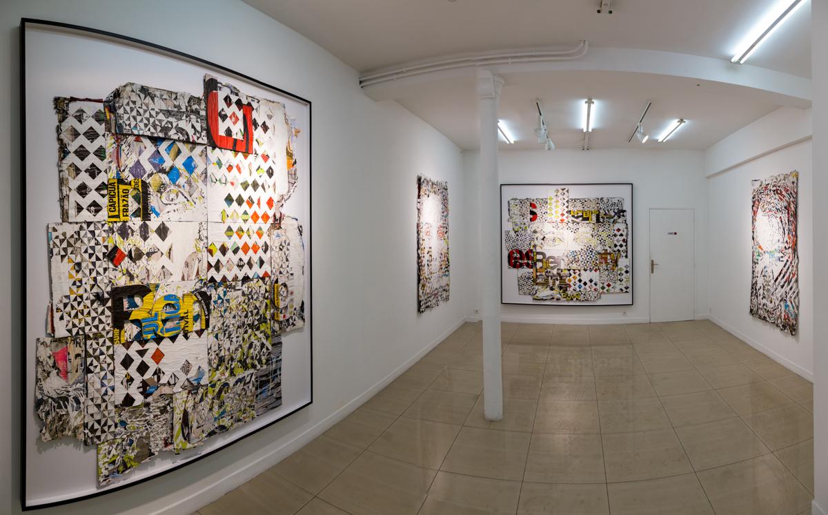 Vhils à la galerie Magda Danysz - Novembre 2014
