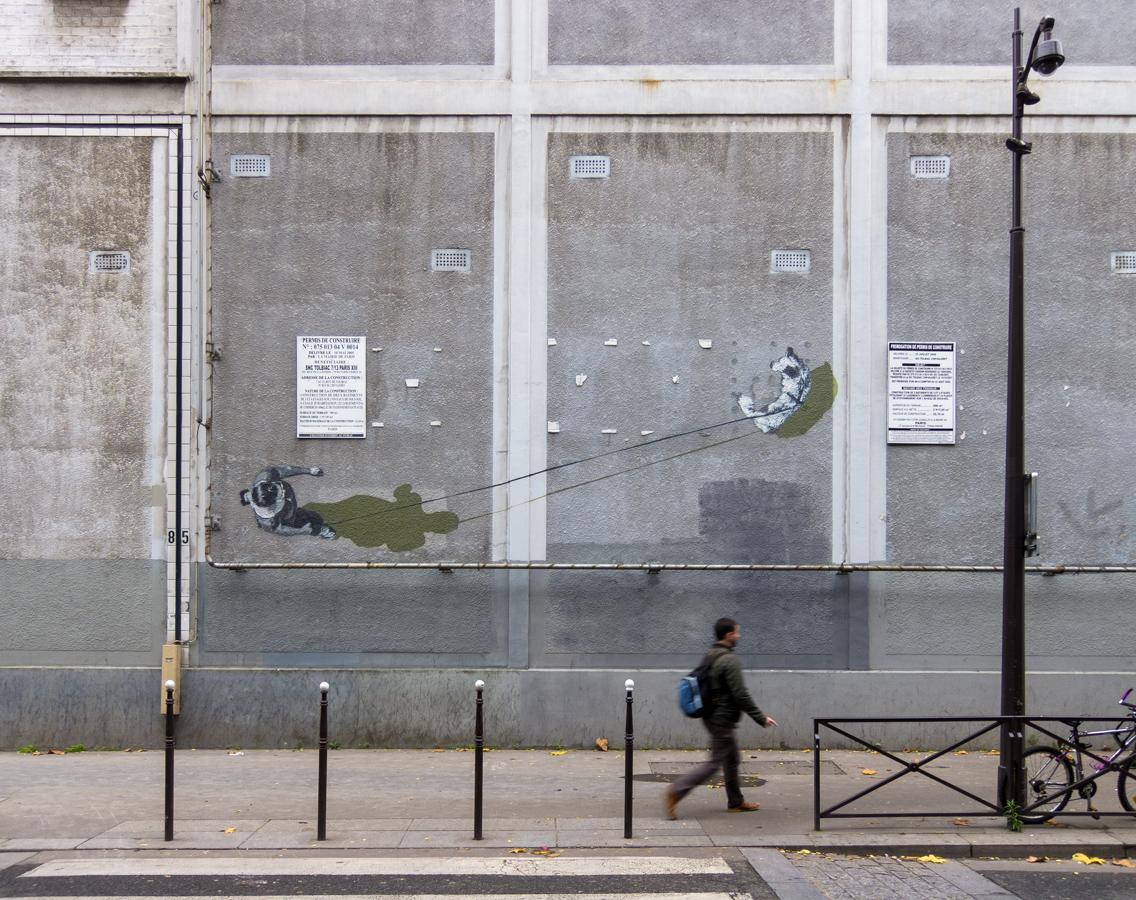 Strøk à Paris décembre 2014