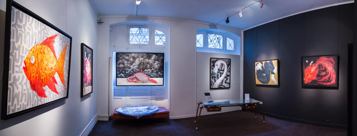 Ella & Pitr - Galerie Le Feuvre - Janvier 2015