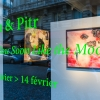 "Exposition de Ella & Pitr à la galerie Le Feuvre ""See you soon like the moon"""
