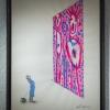 """Exposition de Ella & Pitr à la galerie Le Feuvre """"See you soon like the moon"""""""
