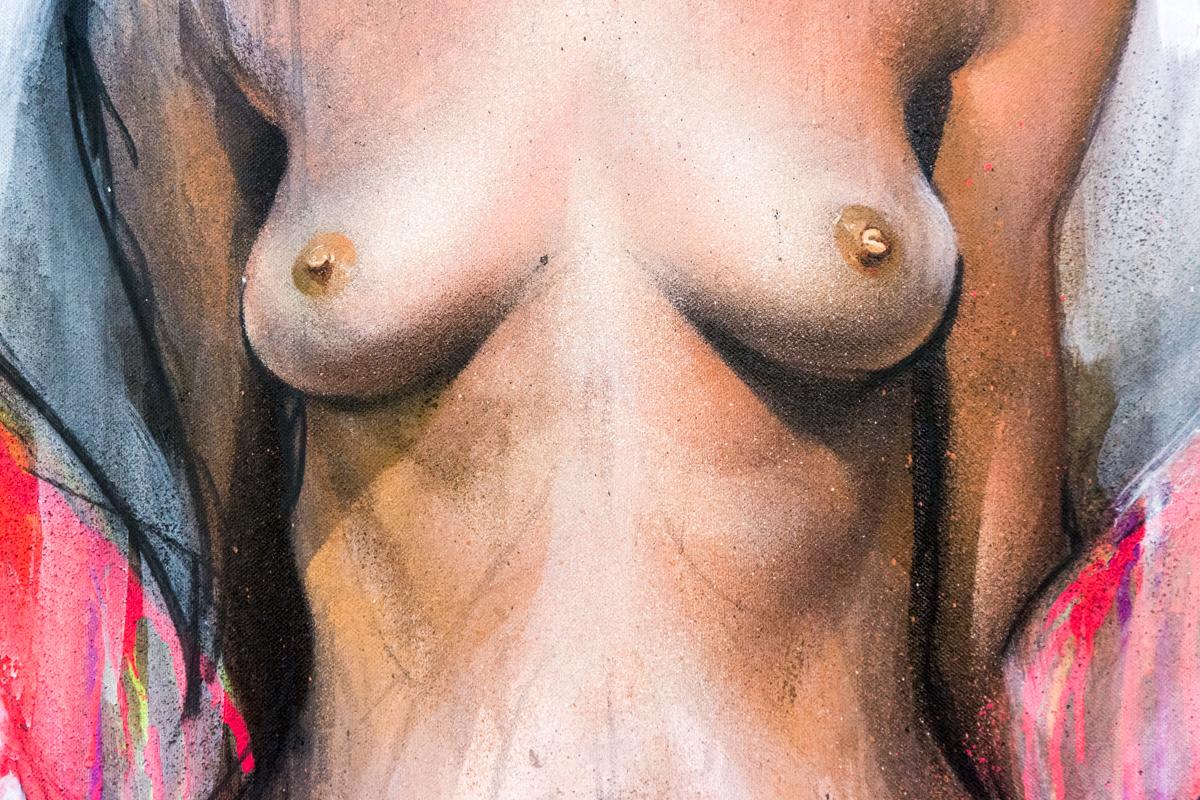 Herakut - Galerie Mathgoth - janvier 2015