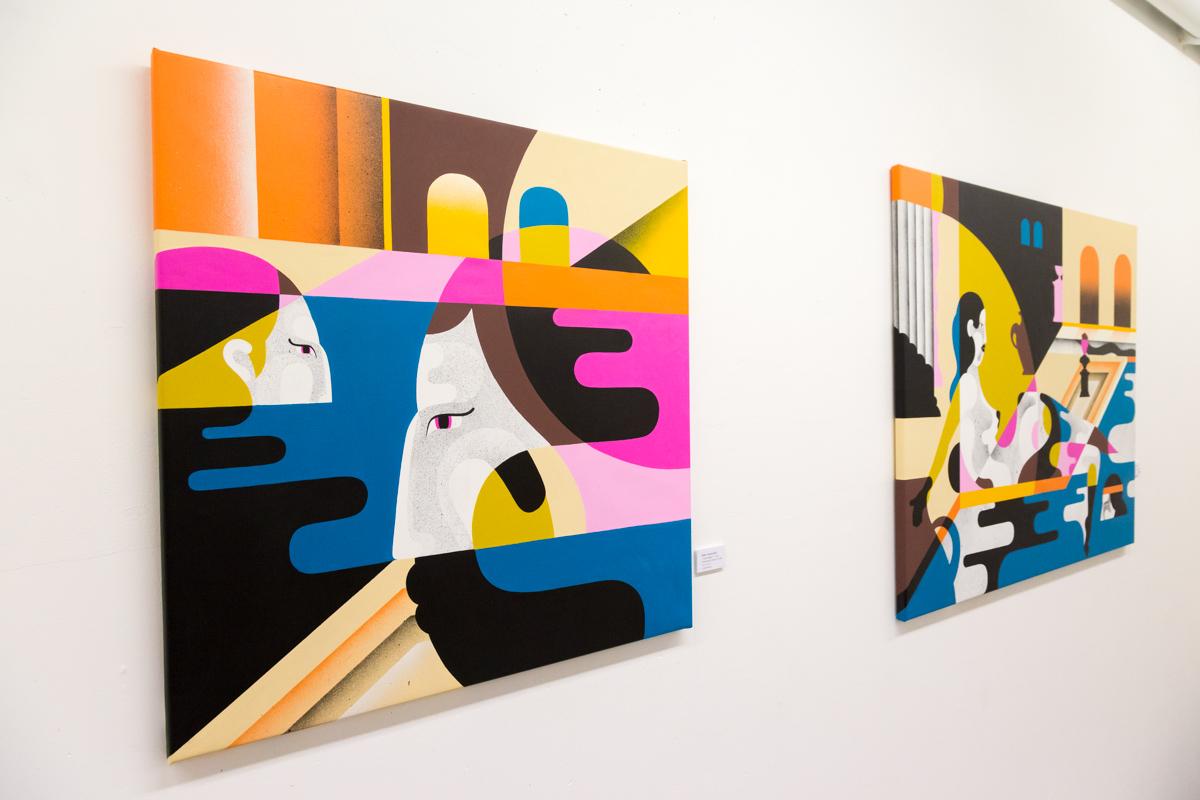 Reka - Galerie Mathgoth - janvier 2015