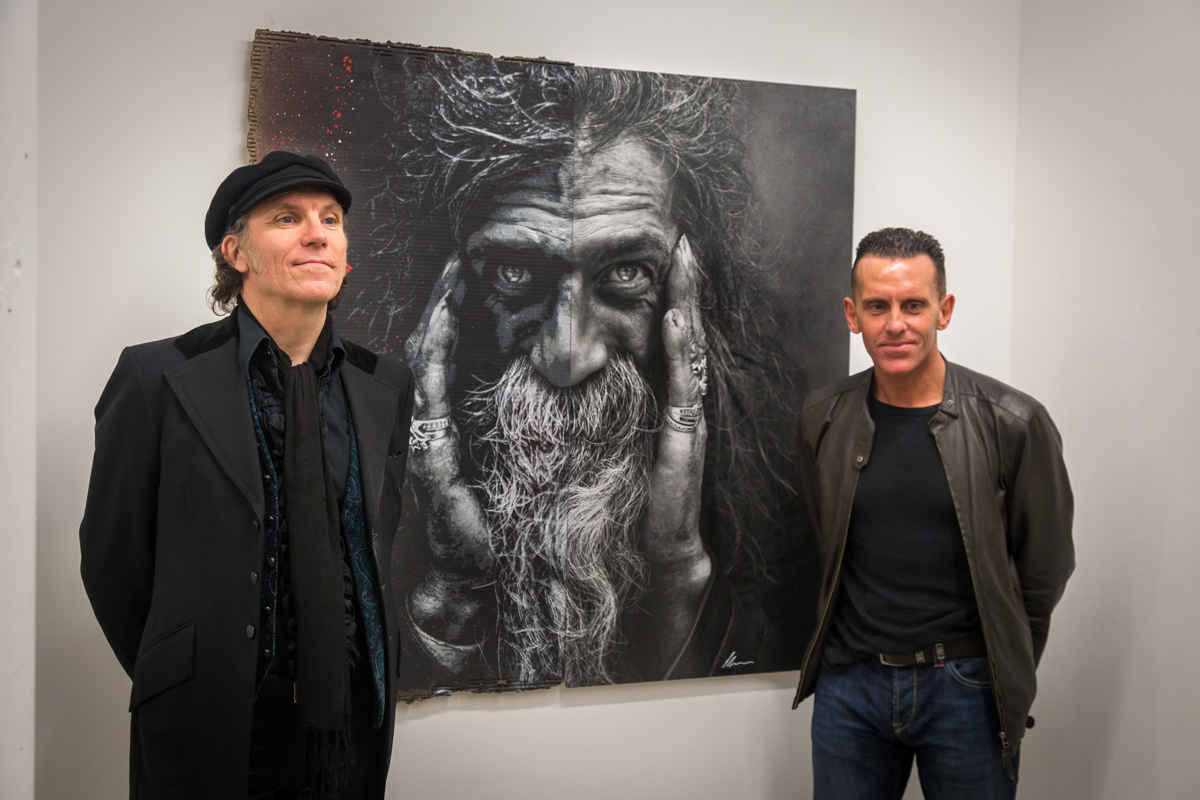 SYNERGY avec Lee Jeffries et Jef Aérosol - Galerie Mathgoth - Mars 2015