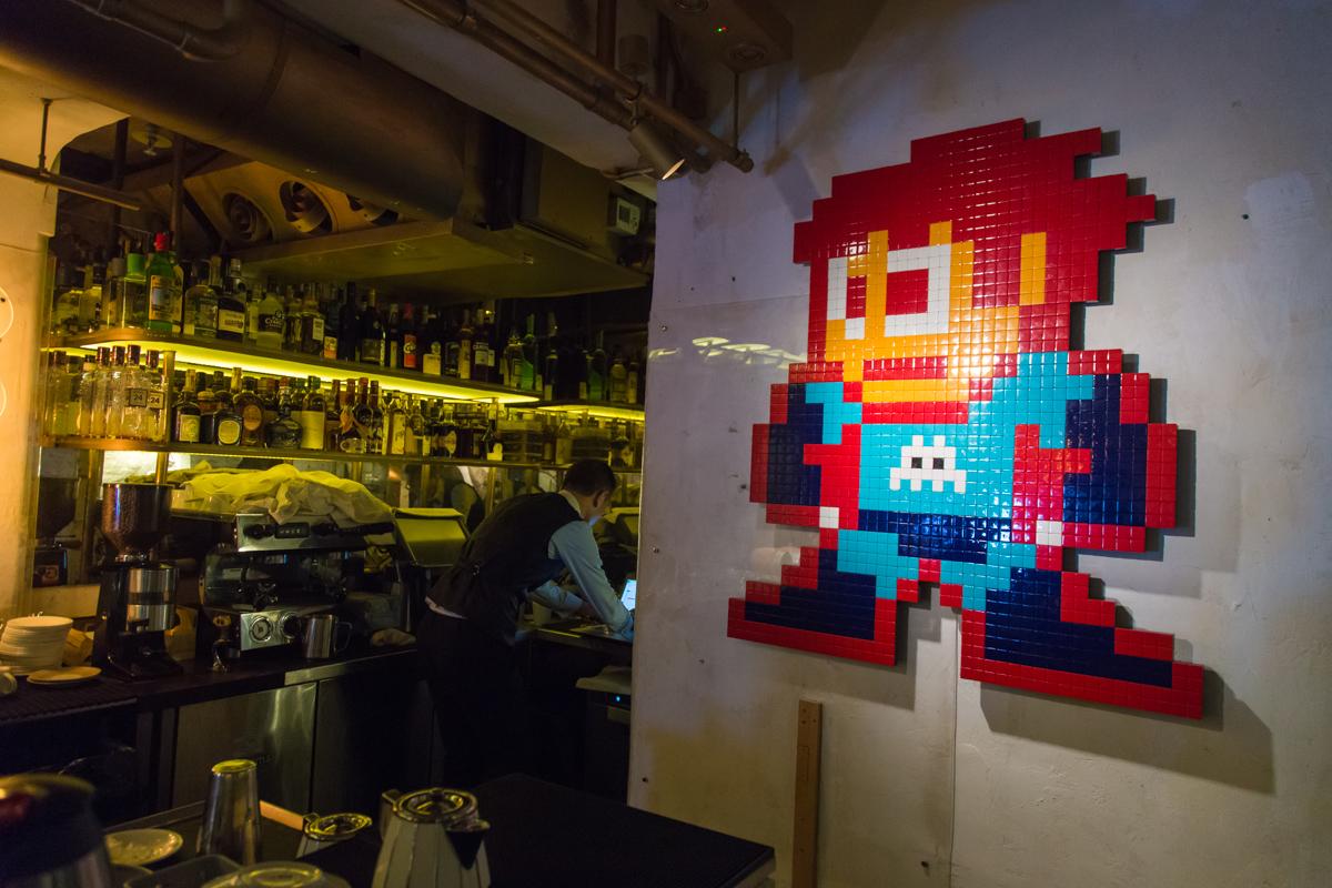 Visite du restaurant BIBO au coeur de Hong Kong