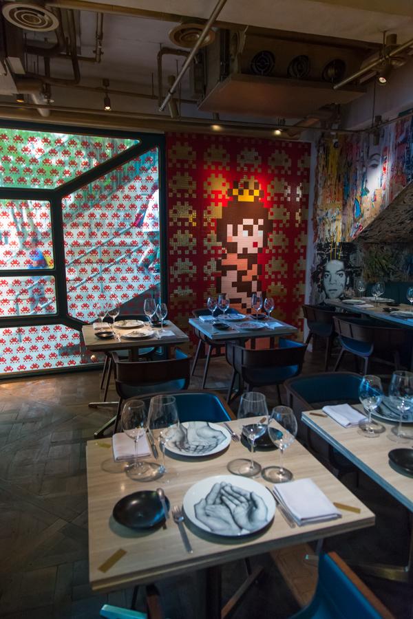 HK_32 - Princess Peach, Restaurant Bibo - 100 pts - Hollywood Road - Hong Kong