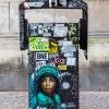 Pochoirs sur les murs de Paris