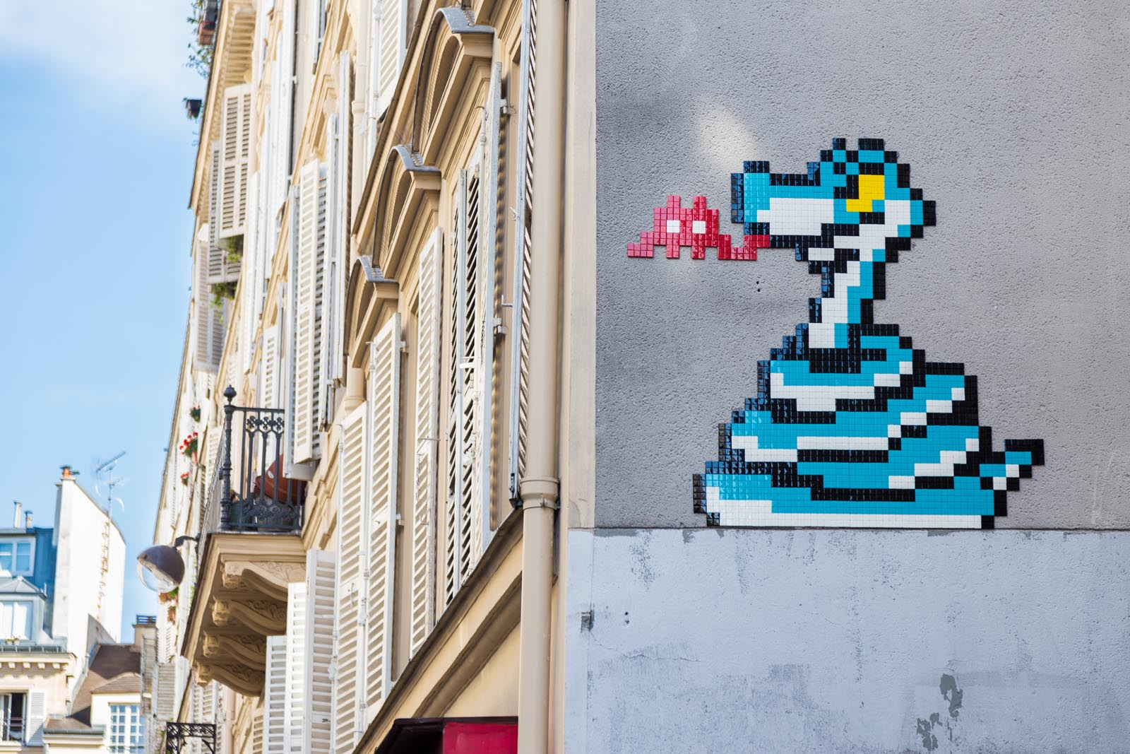 Kaa by Invader - Eté 2016
