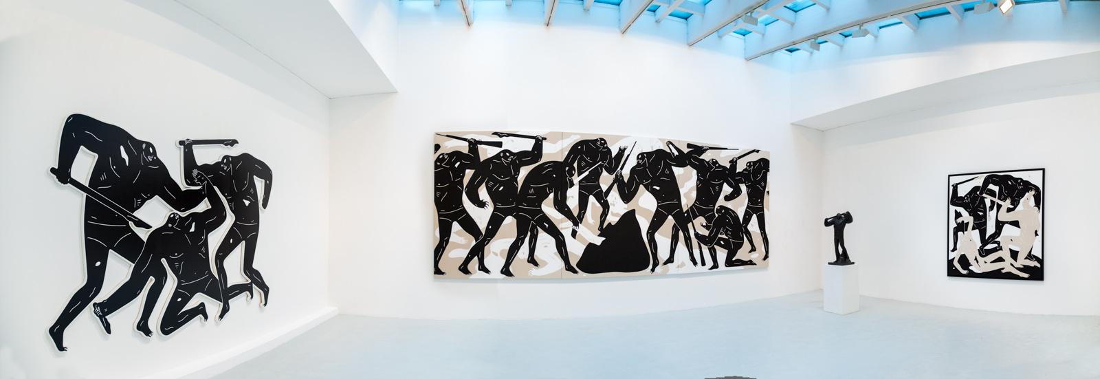 Cleon Peterson - Victory - galerie du jour agnès b.