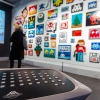 """""""Hello my game is..."""" exposition d'Invader au Musée en herbe"""