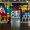 """Hello my game is..."" exposition d'Invader au Musée en herbe"