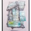 """""""Effets secondaires"""" exposition de Bom-K à la galerie Itinerrance"""