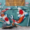 Street art à Hong Kong