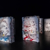 """Fragments urbains"" exposition de Vhils au 104"