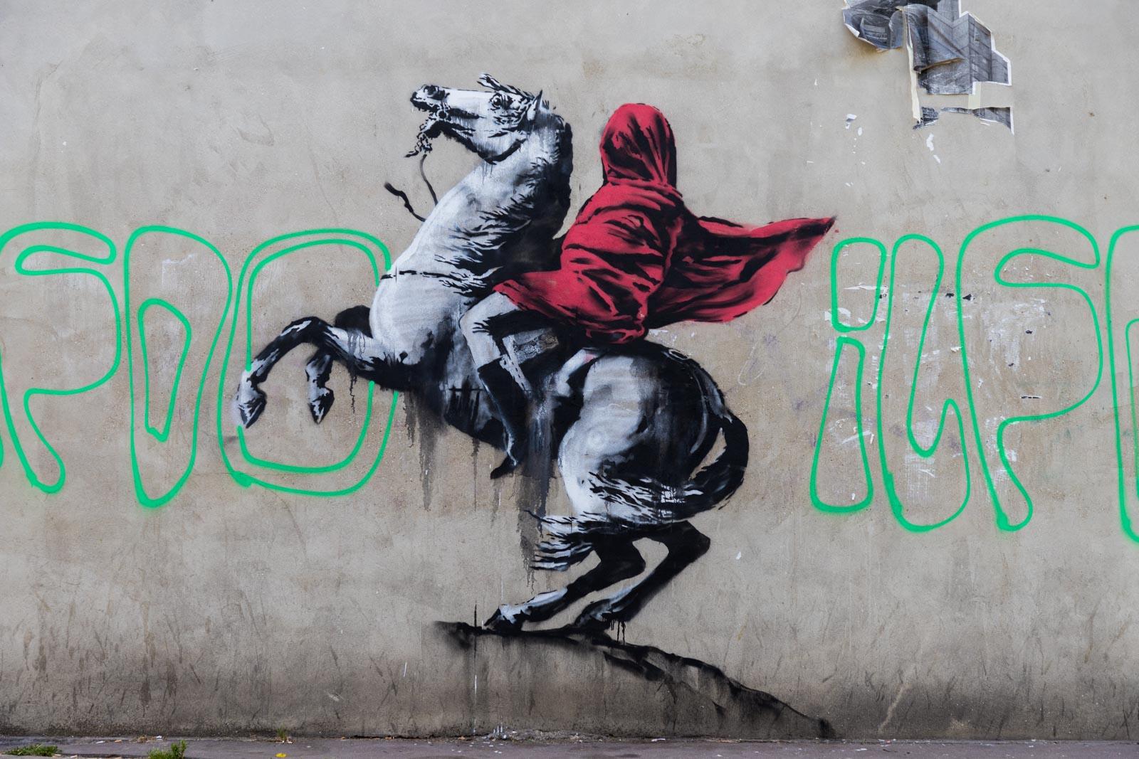Banksy - Juin 2018