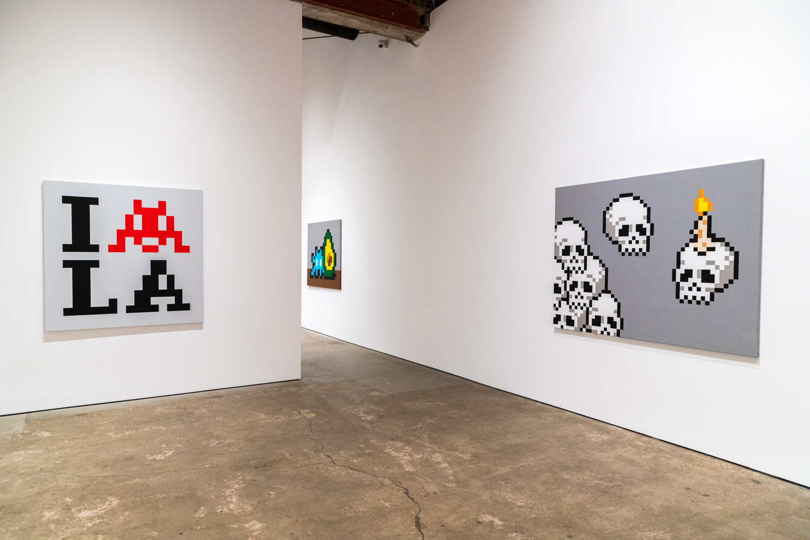Invader - Into the white cube - Over the Influence - Novembre 2018