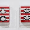 """Into the white cube"" exposition de Invader à la galerie Over The Influence"
