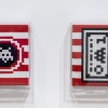 """""""Into the white cube"""" exposition de Invader à la galerie Over The Influence"""