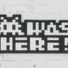 LA_214 - Invader was here - I was here too - Downtown - Los Angeles /// 30 pts