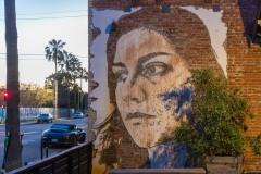 Grafs, pochoirs et affiches sur les murs de Los Angeles