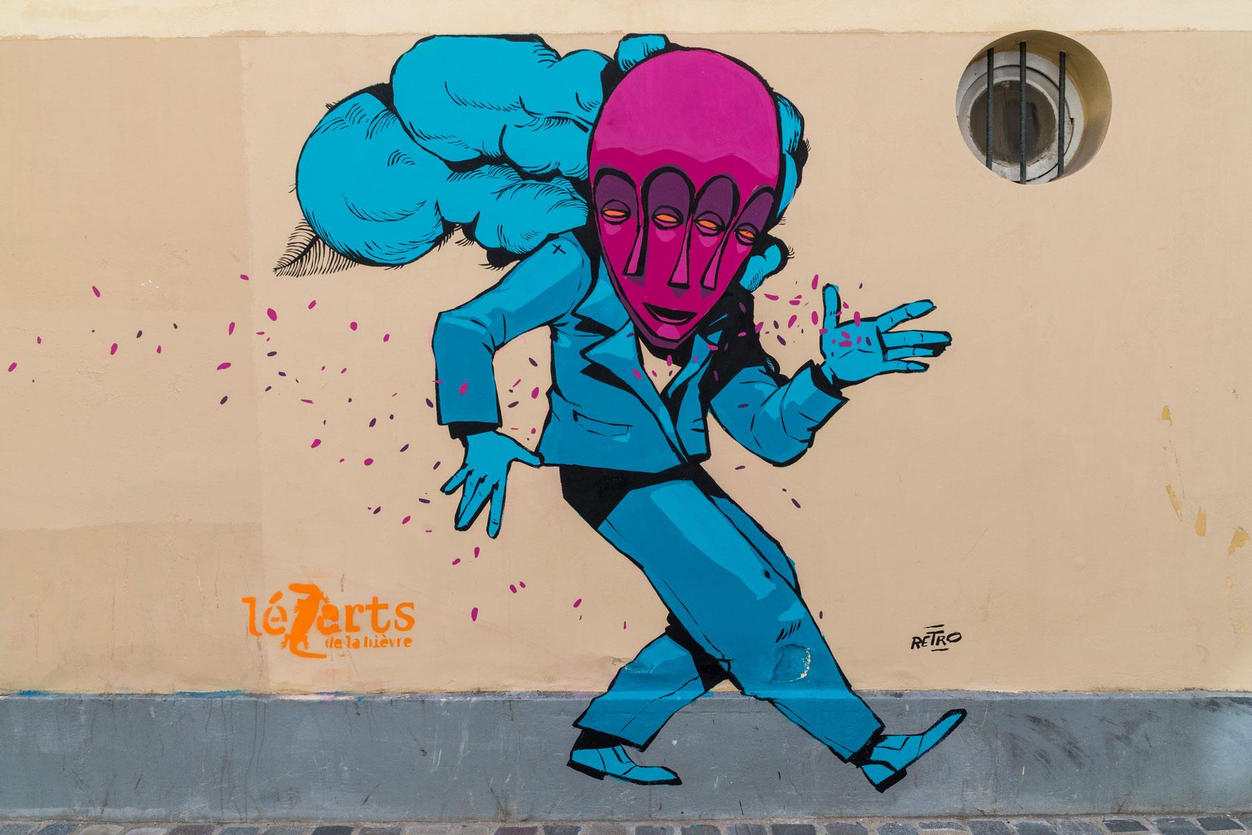 Rétro graffitism pour les Lézarts de la Bièvre - Juin 2019