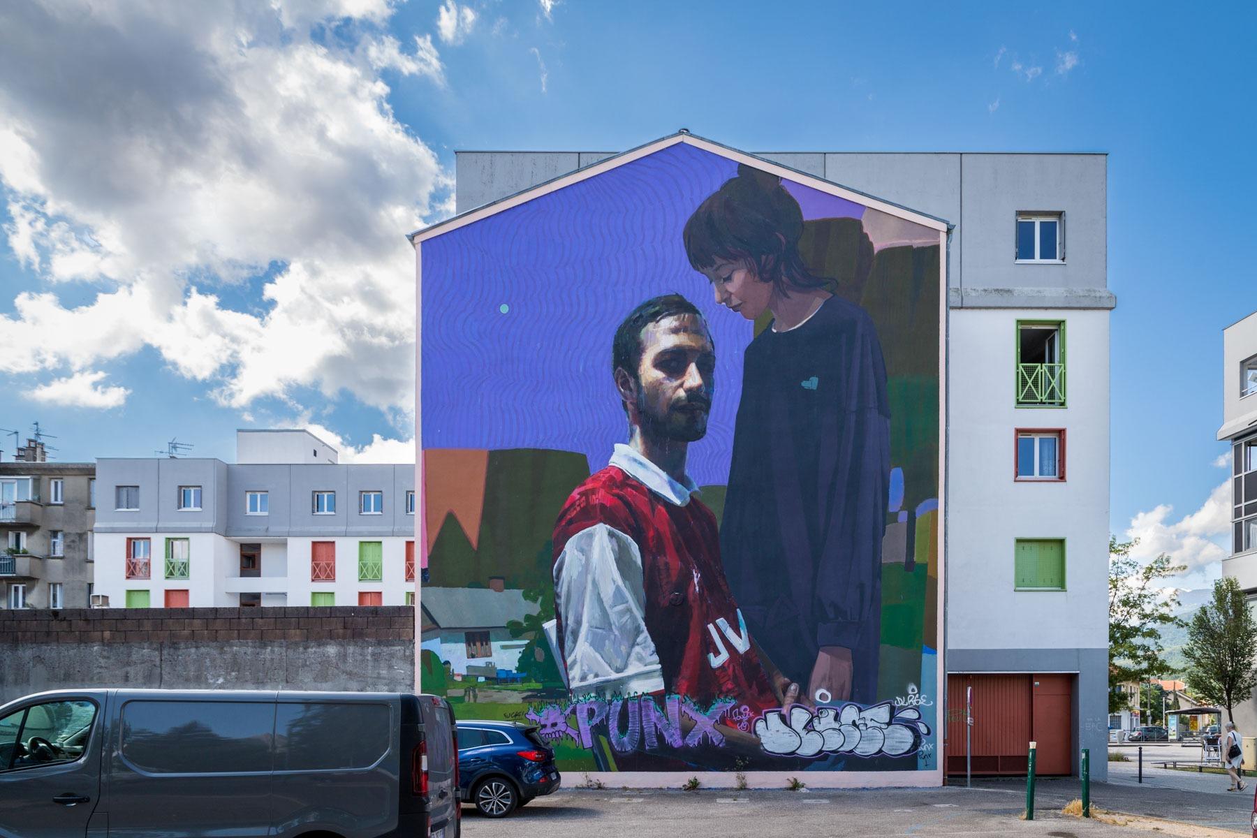 Sainer et Sebas Velasco - Grenoble - Juillet 2019
