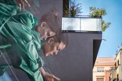 Sur les murs de Grenoble