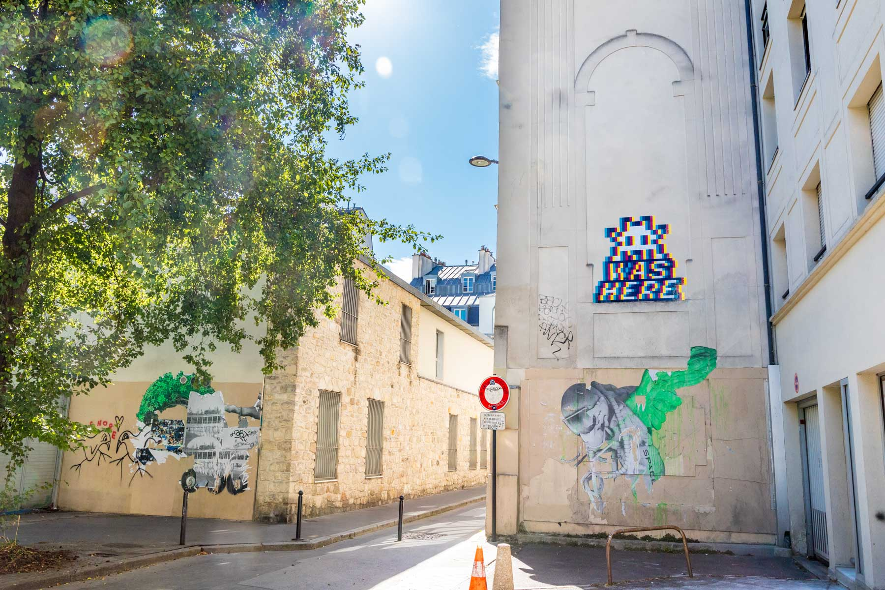 Invader @ Paris