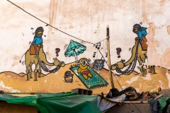 Street art à Marrakech
