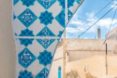 Sur les murs de Djerba