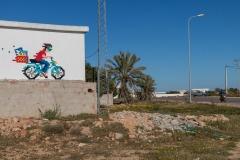 DJBA_45 - Selfportrait on the Motobécane - Sedouikech