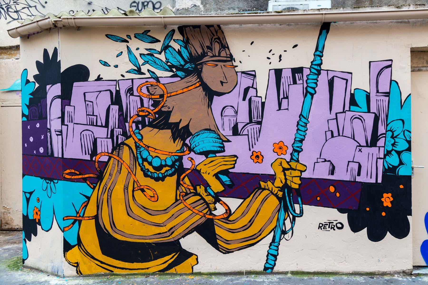 Rétro graffitism