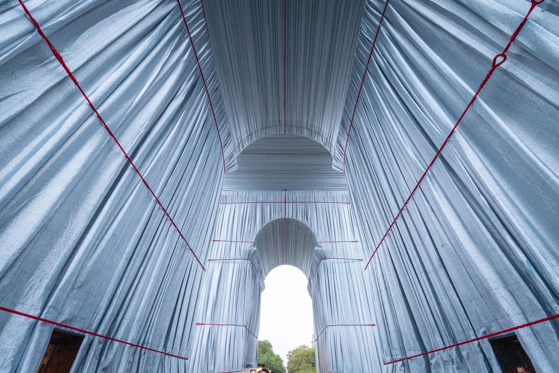 Wrapped par Christo et Jeanne-Claude - Septembre 2021