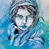 L'association C215 dans le passage rue Jean Quarr 19