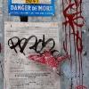 Pochoirs et affiches de C215 sur les murs de Lyon