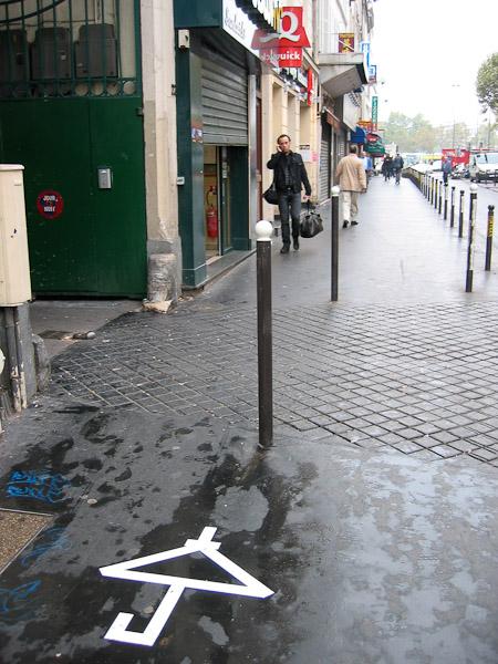 Sur le tarmac parisien