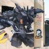 Duster132 sur les murs de  Paris