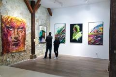 Expo de Hopare à la galerie 42b