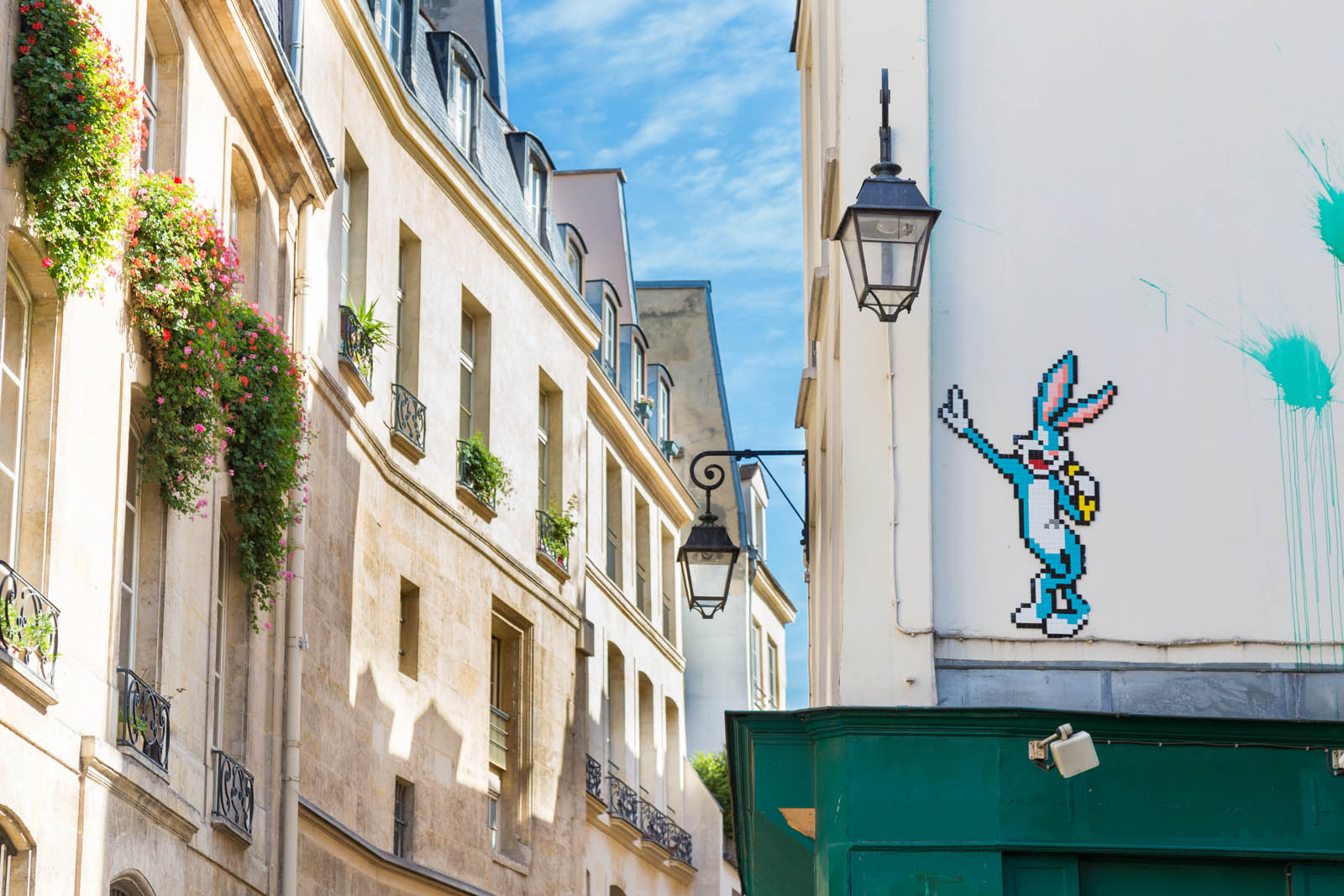 Bugs Bunny by Invader