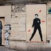 Les ballades de Jef Aérosol sur les murs de Paris